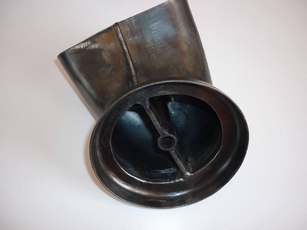 Curva-terminale per marmitta Landini L.30 e 35-8