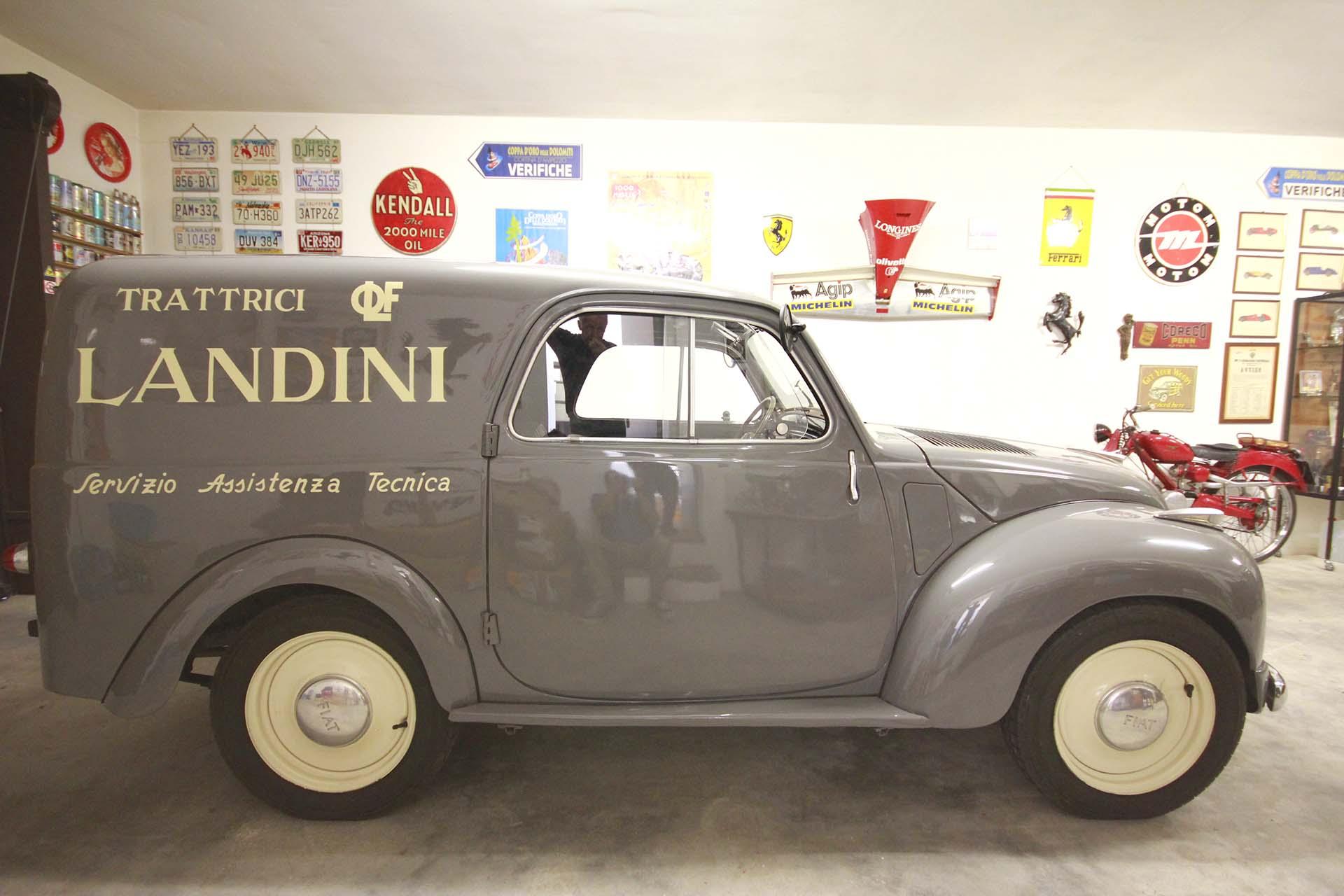 Fiat 500C (Topolino) assistenza ufficiale Landini