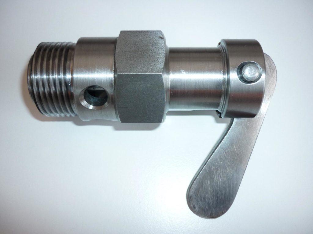 Valvola decompressione cilindro per Vélite e Super