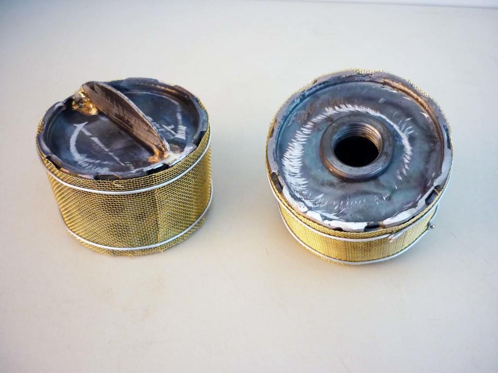 Filtro interno serbatoio nafta/olio